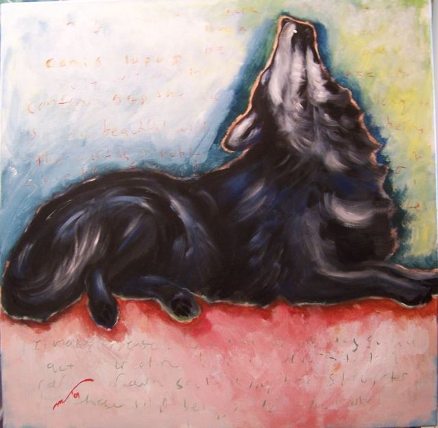 painting by Marianne Bickett, copyright 2009