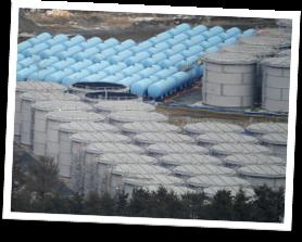 Fukishima Nuclear Power Plant Storage